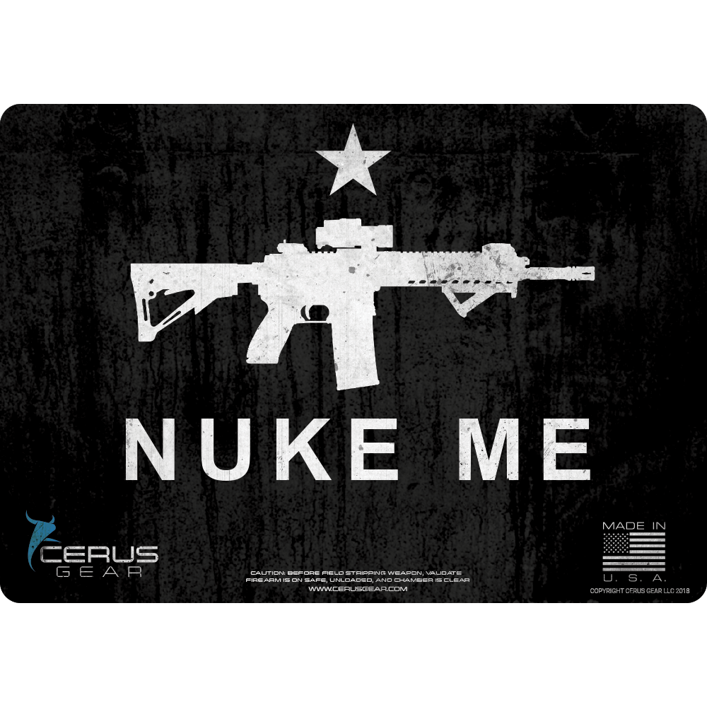 **LIMITED EDITION** NUKE ME HANDGUN PROMAT