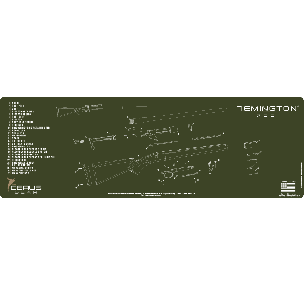 Remington® 700 Schematic Rifle ProMat