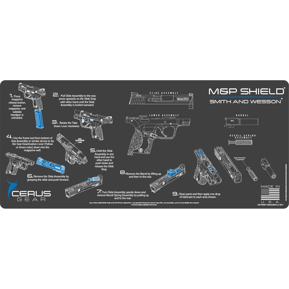 BEST M&P SHIELD GUN MAT