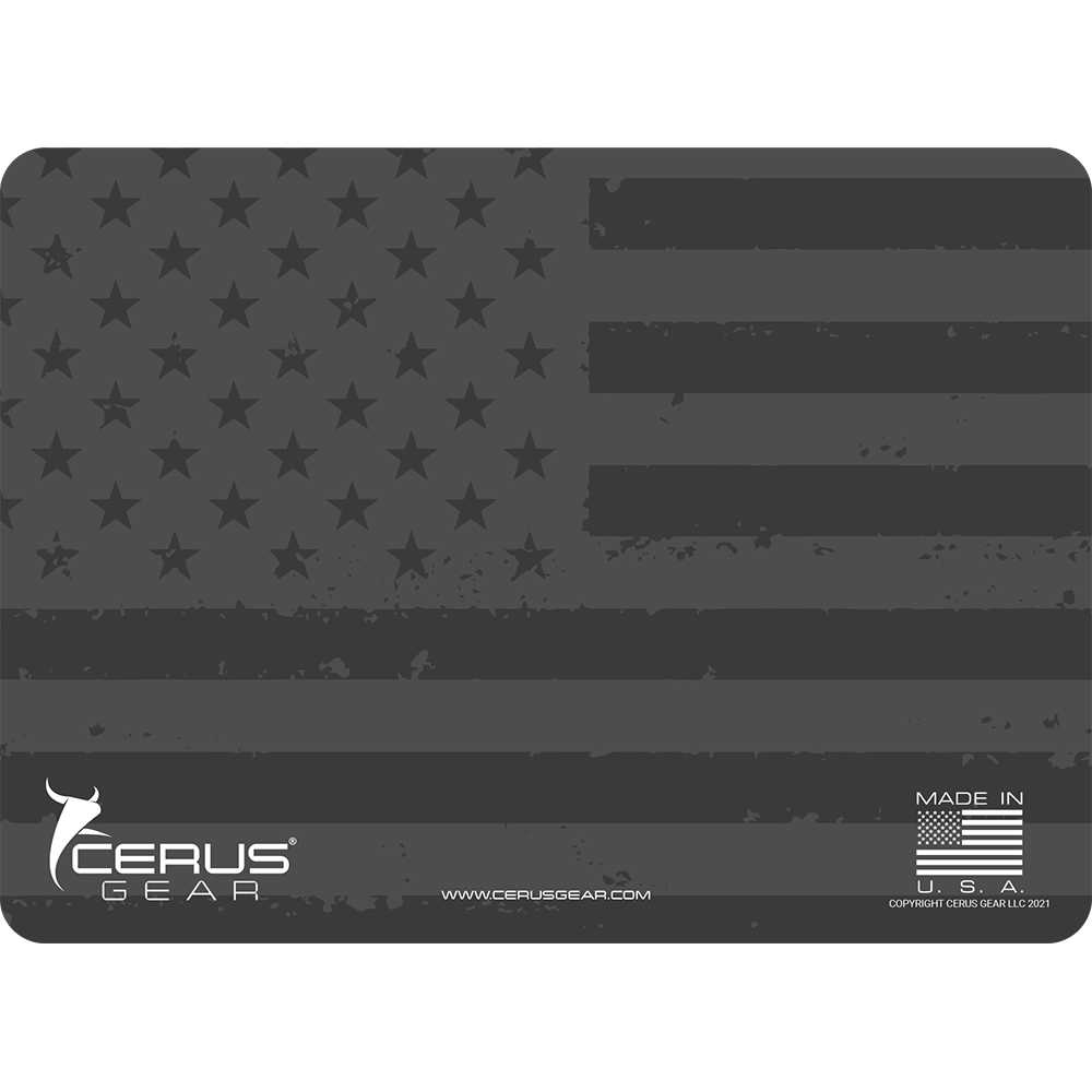 EDC American Flag Shadow Mat