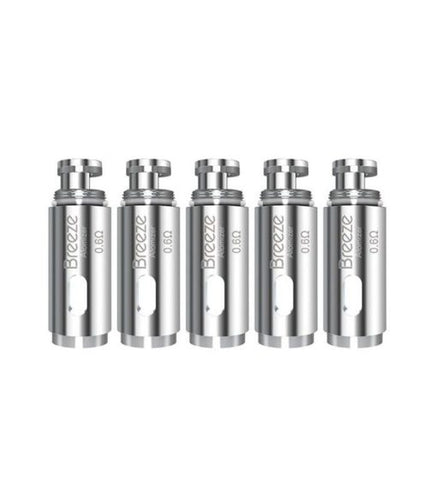 Aspire Breeze Coils - NEW FOR Upgraded Starter Kit 5pk 0.6ohm