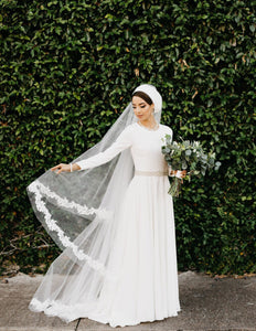 Ethereal Custom Lace Veil