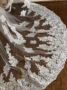 Antique Lace Cathedral Veil