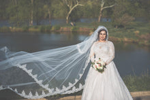 Infinite Lace Cathedral Veil