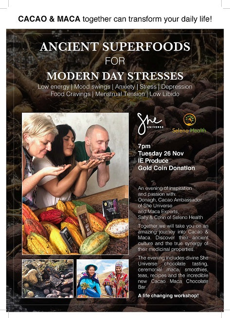 Ancient Superfoods for Modern Day Stresses