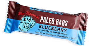 Blue Dinosaur Paleo Bar Blueberry