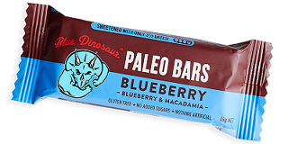 Blue Dinosaur Paleo Bar Blueberry - 20% off