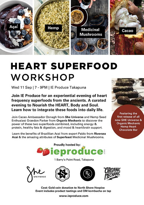 Heart SuperFood Workshop