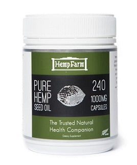 The Hemp Farm Hemp Seed 240SG Caps