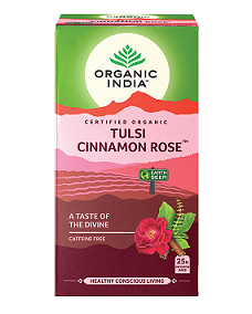 Organic India Tulsi Cinnamon Rose 25tbags