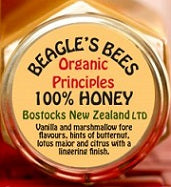 Beagle's Bees Honey Bostock 100% Honey 250gm