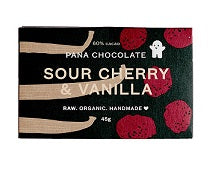 Pana Chocolate Sour Cherry Vanilla 45gm