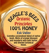 Beagle's Bees Honey Esk Valley 100% Honey 250gm