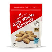Ceres Organics Raw Whole Almonds 250gm