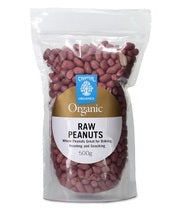 Chantal Organics Peanuts Raw Red Skin 500g