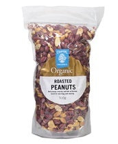 Chantal Organics Peanuts Roasted 500g