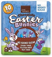 Sweet William Easter Bunnies 10pcs - No Added Sugar