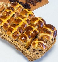 Hot Cross Buns Flaveurs Organic Sourdough