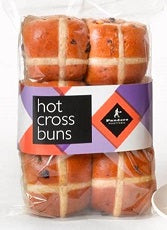 Hot Cross Bun Pandoro Fruit 6pack
