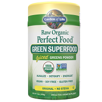 Garden of Life Raw Organic Perfect Food Green Superfood Powder 200gm
