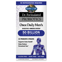 Dr. Formulated Probiotics Once Daily Men's 50 Billion CFU 30VCaps