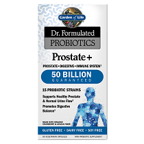 Dr. Formulated Probiotics Prostate+ 50 Billion CFU 60VCaps
