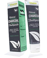 inVitamin Natural Whitening Activated Charcoal Toothpaste  - Spearmint