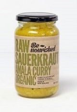 Be Nourished Amala Curry Raw Sauerkraut