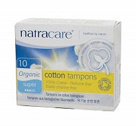Natracare Tampons Super Digital Tampons 10's