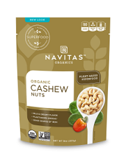 Navitas Cashew Nuts 227gm