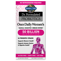Dr. Formulated Probiotics Once Daily Women's 50 Billion CFU 30VCaps