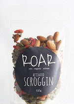 Roar Superfood Scroggin Activated Raw Organic 125g