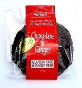 Swiss Bliss German Style Gingerbread Choc Macadamia Nut & Ginger +/-70gm