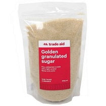 Trade Aid Golden Granulated Sugar 500gm