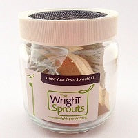 Wright Sprouts Grow Your Own Sprout Kit Small Jar