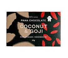 Pana Chocolate Coconut & Goji 45gm