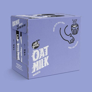 All Good Barista Oat Milk 1lt - 6x1lt - less 15% off
