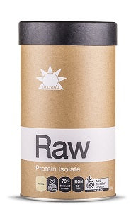 Amazonia Raw Protein Isolate Vanilla 500gm