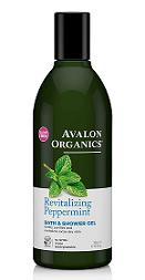 Avalon Organics Revitalizing Peppermint BATH & SHOWER GEL