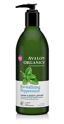 Avalon Organics Revitalizing Peppermint HAND & BODY LOTION