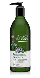 Avalon Organics Rejuvenating Rosemary HAND & BODY LOTION
