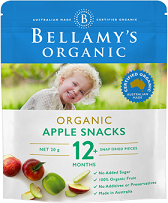 Bellamy's Certified Organic Apple Snacks