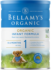 Bellamy's Certified Organic Step 1 Infant Formula 0 - 6 MONTHS