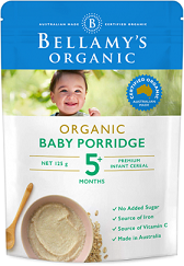 Bellamy's Certified Organic Baby Porridge