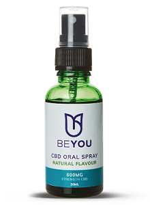 BeYou CBD Oral Spray Natural 600mg