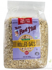 Bob's Red Mill Organic Old Fashioned Rolled Oats 907gm - Wheat Free