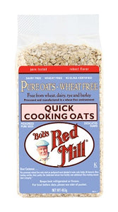 Bob's Red Mill Oats Quick Cooking 453gm - Wheat Free