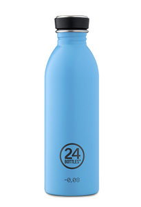 24 Bottles Urban Stainless Steel Lagoon Blue 500ml