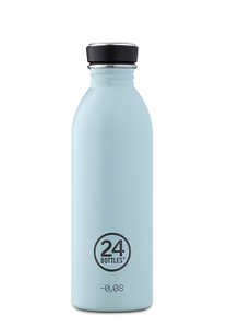 24 Bottles Urban Stainless Steel Cloud Blue 500ml