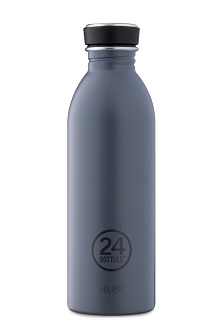 24 Bottles Urban Stainless Steel Formal Grey 500ml
